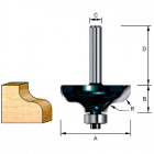 Фреза кромочная фасонная Makita R4.76 31,8х12.7х8х32х2Т (D-11564)
